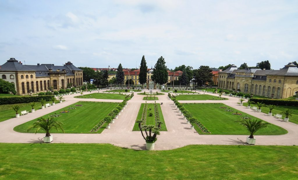 Park und Schloss Friedenstein in Gotha