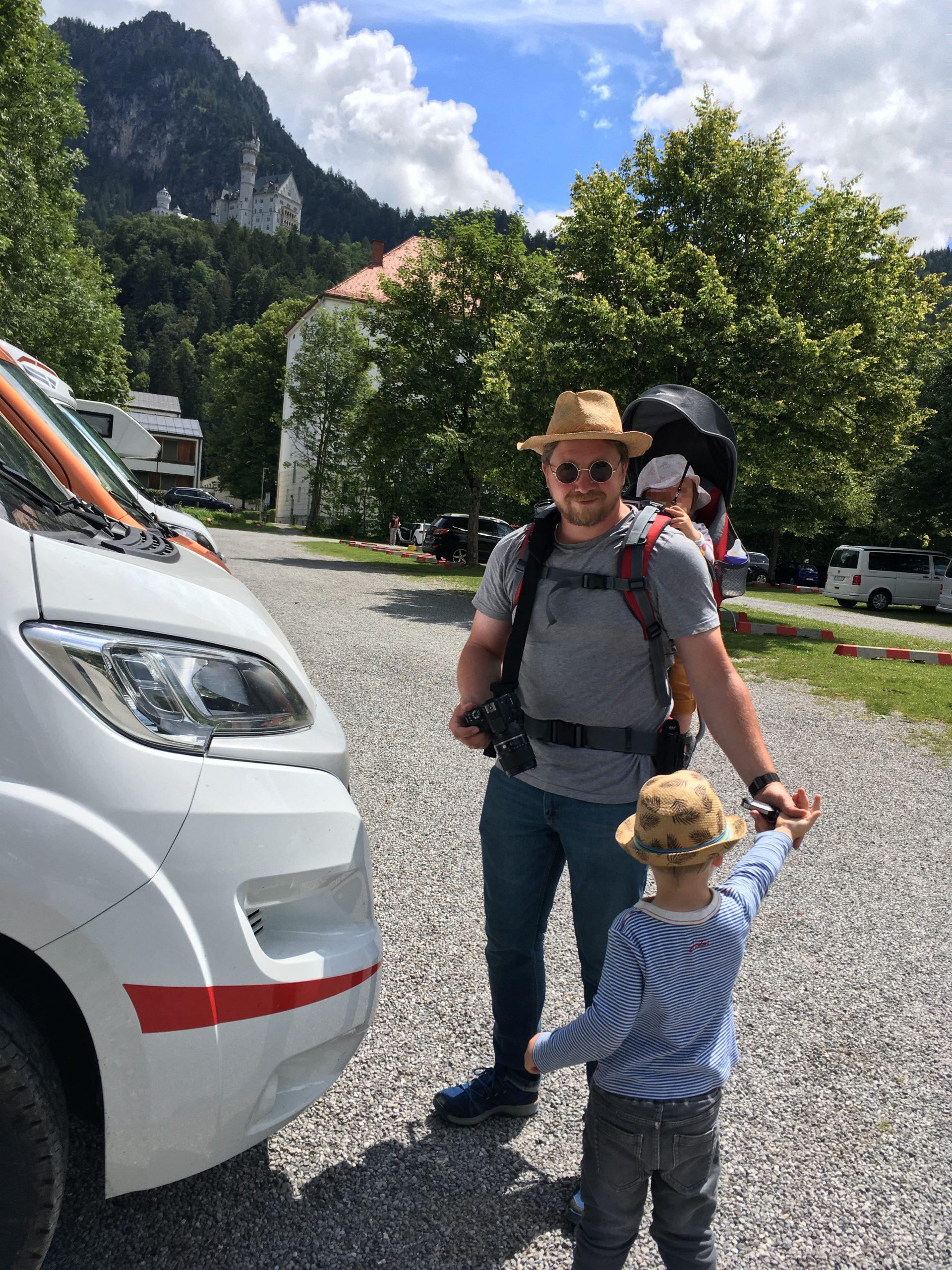 Familienurlaub im Reisemobil