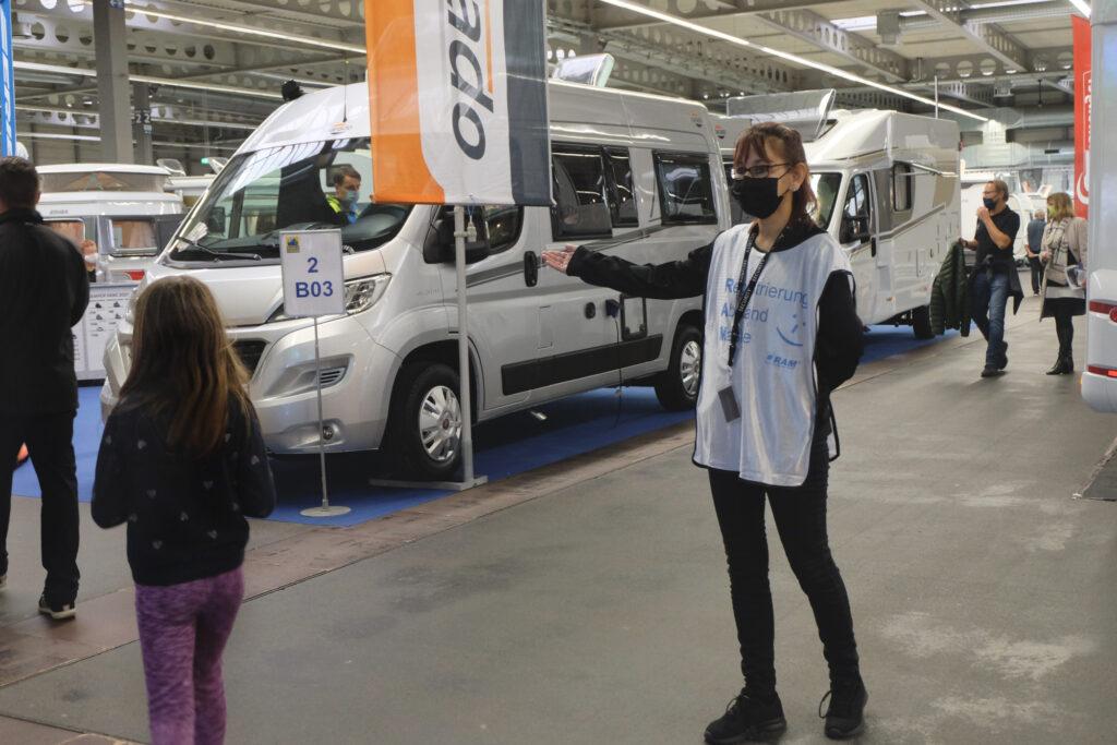 Hygiene-Scout hilft bei der Umsetzung des Infektionsschutzkonzepts bei der Messe Reisen & Caravan