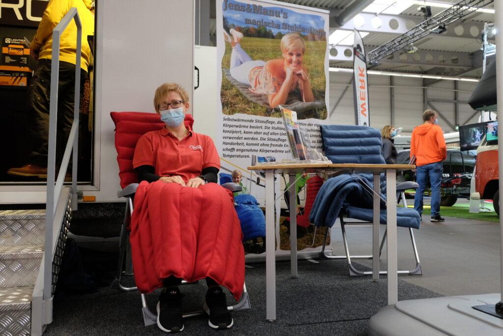 Zubehör für Camping und Caravaning bei der Messe Reisen & Caravan in Erfurt